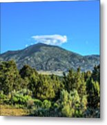 Morning View Of Albion Mountains Metal Print