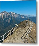 Moro Rock Sequoia National Park Metal Print