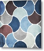 Moroccan Blues  Metal Print