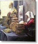Moroccan Breadmaker Metal Print