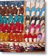 Moroccan Shoes 3 Metal Print