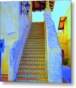 Moroccan Staircase Metal Print