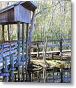 Morris Bridge Metal Print