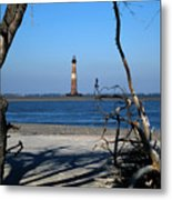 Morris Island Lighthouse Charleston Sc Metal Print
