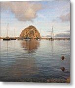 Morro Rocks Metal Print