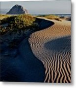 Morro Strand State Beach, California Metal Print