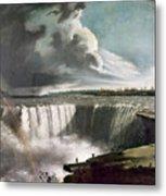 Morse: Niagara Falls, 1835 Metal Print