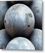 Mortar Shells Metal Print