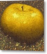 Mosaic Apple Metal Print