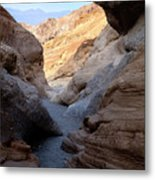 Mosaic Canyon Metal Print