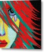 Mosaic Indie Metal Print