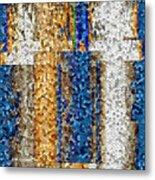 Mosaic Magic Metal Print