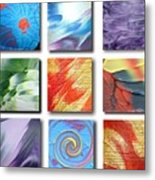 Mosaic Of Abstracts Metal Print