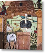 Mosaic Of The Holy Land Metal Print