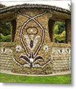 Mosaic Stone Bandstand In Anacortes Metal Print