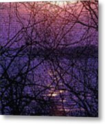Mosaic Sunset Metal Print