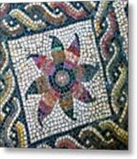Mosaico Pavimentale Metal Print