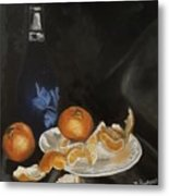 Moscato And Tangerines Metal Print