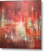 Abstract Moscow Metal Print