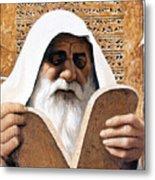 Moses - Lgmss Metal Print
