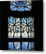 Mosque Foyer Window 2 Metal Print