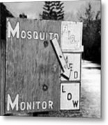 Mosquito Monitor Metal Print