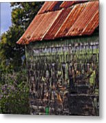 Moss Covered House-st Lucia Metal Print