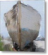 Moss Landing Boat Metal Print