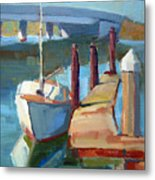 Moss Landing Morning Metal Print