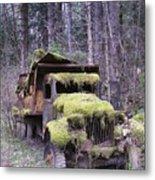 Mossy Truck Metal Print