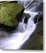 Mossy Waterfall Metal Print