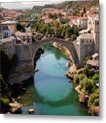 Mostar Metal Print