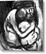 Mother And Baby8216 Metal Print