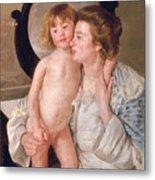 Mother And Boy Metal Print
