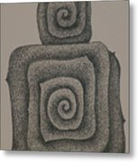 Mother And Child  2008 Metal Print