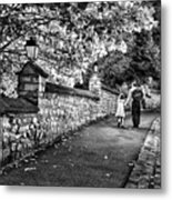 Mother And Daughter-france Metal Print