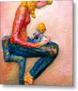 Mother Bonding I Metal Print