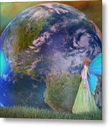 Mother Earth Series Plate3 Metal Print