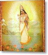 Mother Goddess Lalitha Metal Print