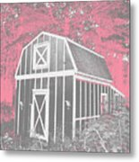 Mother Goose's Barn Metal Print
