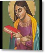 Mother Of God After Fra Angelico 168 Metal Print