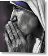 Mother Teresa Of Calcutta Metal Print