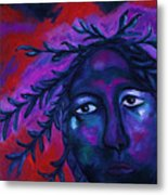 Mother Watching All Metal Print
