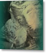Mother With Infant Metal Print