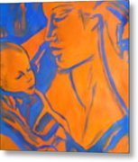 Motherhood II Metal Print