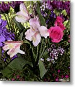 Mothers Day Bouquet Metal Print