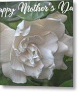 Mother's Day Gardenia Metal Print
