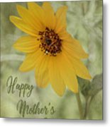 Mother's Day Sunflower Metal Print