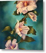 Mothers Rose Of Sharon Metal Print
