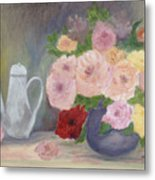 Mother's Roses Metal Print by Shirley Lawing